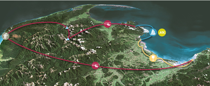 2 or 3 day Luxury nelson tours