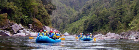 Karamea River Rafting adventure