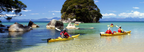 3 day private cycling hiking and sea kayaking package