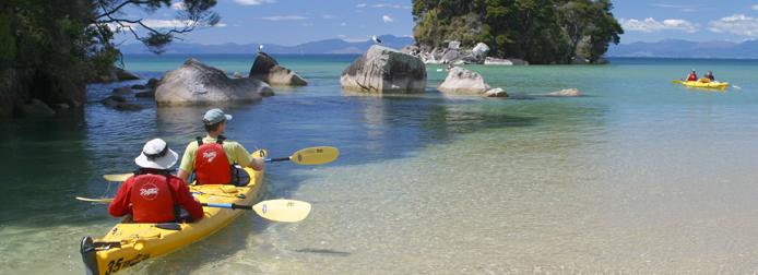 Abel Tasman sea kayaking trips
