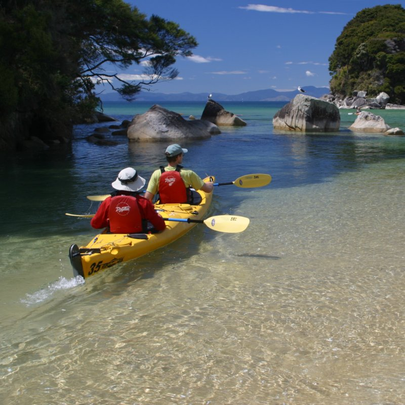 Sea Kayaking Abel Tasman