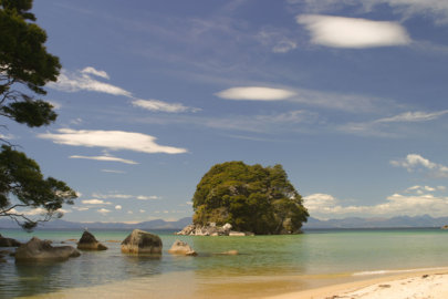 Abel Tasman Private Hiking Beach