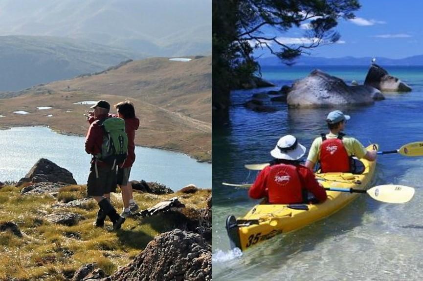 Mountains to Sea Day Trip - Kahurangi National Park